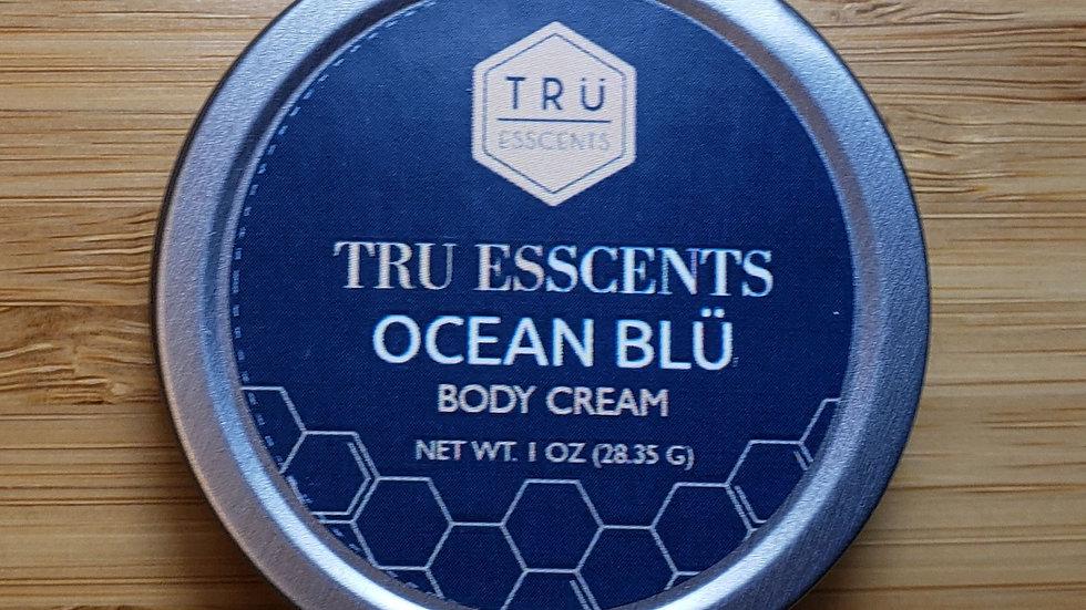 Tru Gent Body Cream Travel Tin 1 oz
