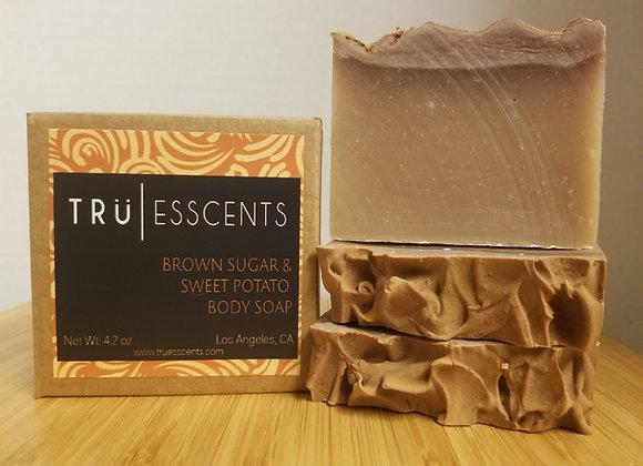 Brown Sugar and Sweet Potato Body Soap