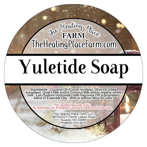 Yuletide~ Goat's Milk Soap
