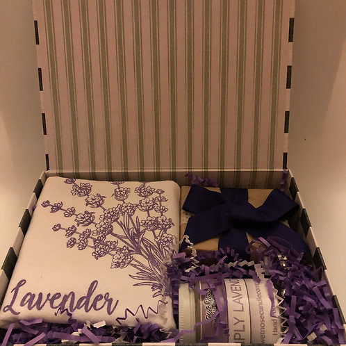 COMING HOME BOX~LAVENDER