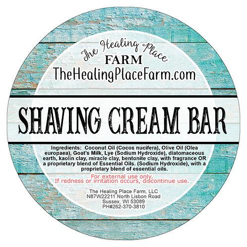 Shaving Cream Bar ~ Goat's Milk Soap