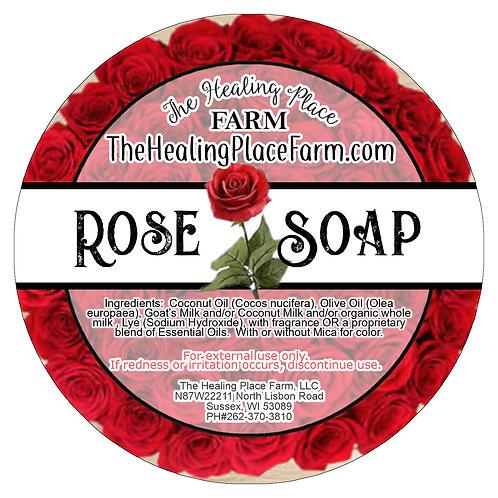 Rose ~ Goat's Milk Soap