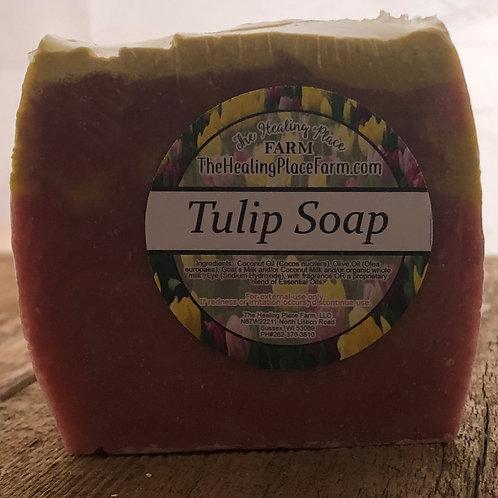 Tulip ~ Goat's Milk Soap