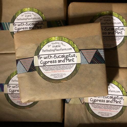 Fir, Eucalyptus, Cyprus & Mint Goat's Milk Soap
