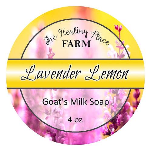 Lavender Lemon Goat's Milk Soap