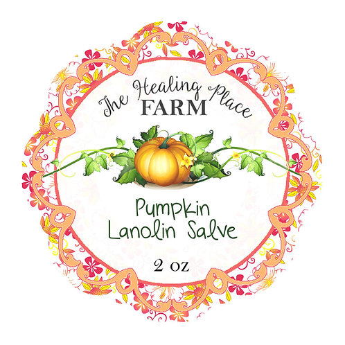 Pumpkin Salve with Lanolin