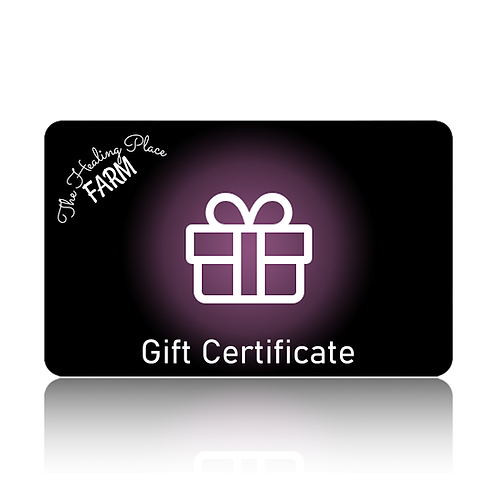 Gift Card Certificate