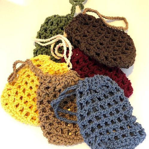 Soap saver pouches ~ Crochet Satchet