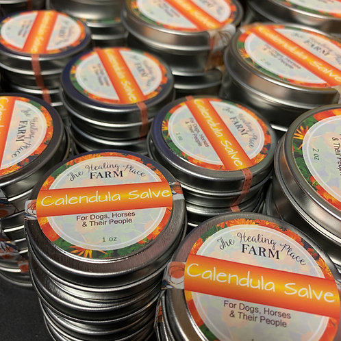 Calendula Salve ~ For Dogs, Horses, & their people