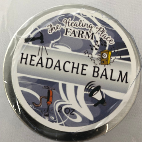 Headache Balm ~ Ease your tension