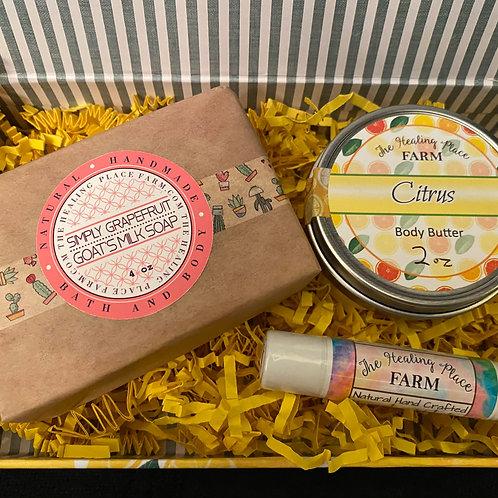 Citrus Twist ~ Gift Set box