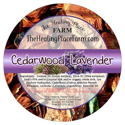 Cedarwood Lavender ~ Goat's Milk Soap