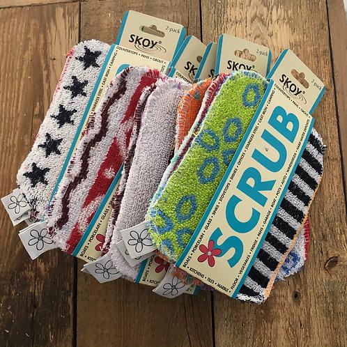 Skoy Scrubbie ~ Cleaning Pads 2 pack