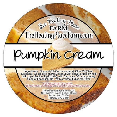 Pumpkin Cream~ Goat's Milk Soap