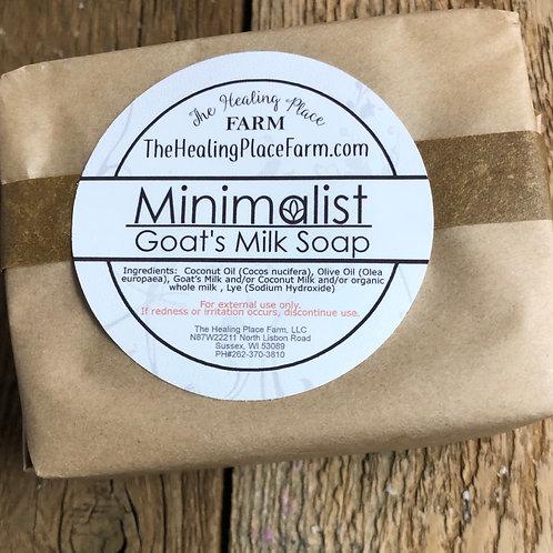 Minimalist SOAP, unscented