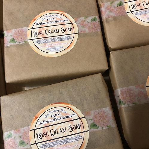 Rose Cream Goat's Milk Soap