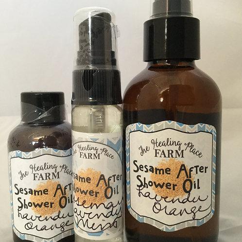 Sesame Dry Oil ~ After Shower Moisturize