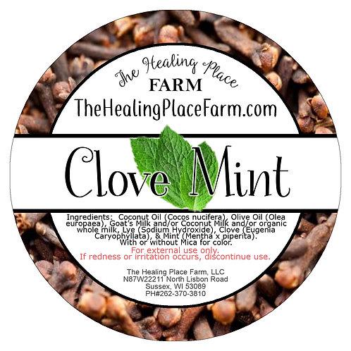 Clove Mint ~ Goat's Milk Soap