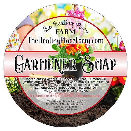 Gardener Soap ~ EXFOLIANT ~ LEMONGRASS AROMA