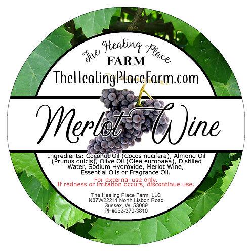Merlot Wine ~ Goat's Milk Soap