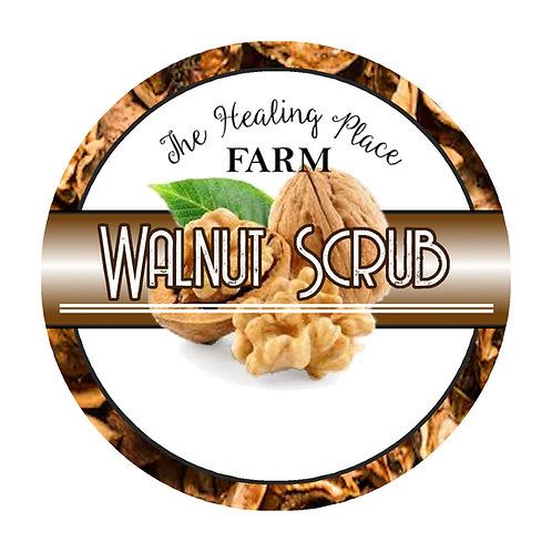 Walnut Body Scrub 8oz Vanilla or Unscented
