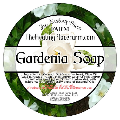 Gardenia ~ Goat's Milk Soap