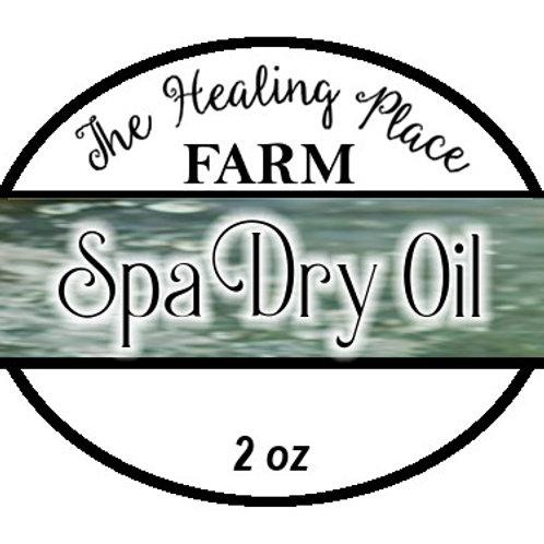"""Spa"" ~ Sesame Dry Oil 2oz"