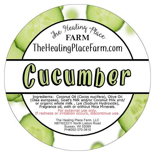 Cucumber Goat's Milk Soap