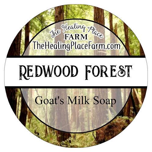 Redwood Forest ~ Goat's Milk Soap