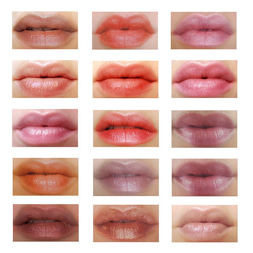 Natural Tinted Lipbalm ~ A pop of color