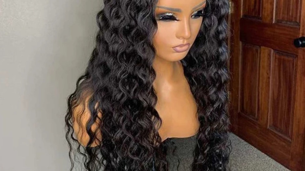EC 1b Lace Front Wig Water Wave