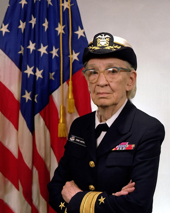 Woman's History Wednesday: Spotlight- Rear Admiral Grace M. Hopper