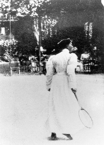 Charlotte Cooper 1900 Games