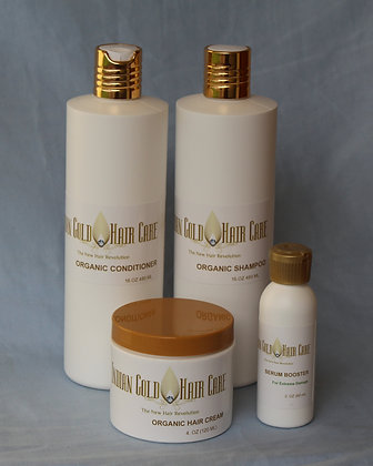 8oz Starter Kit Shampoo & Hair Cream Set