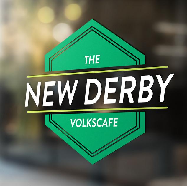 Nieuw logo voor volkscafé The New Derby