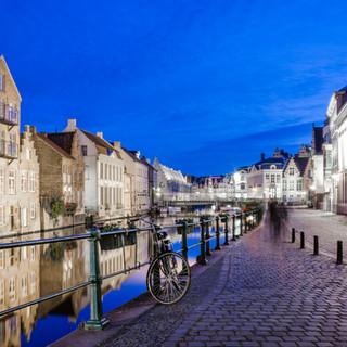 Nachtfotografie door de straten van Gent