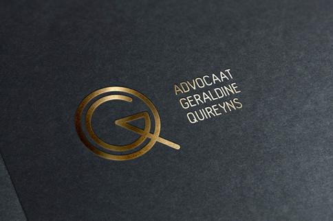 Elegant logo voor een advocaat