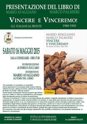 """PRESENTAZIONE LIBRO: """"VINCERE E VINCEREMO!"""""""