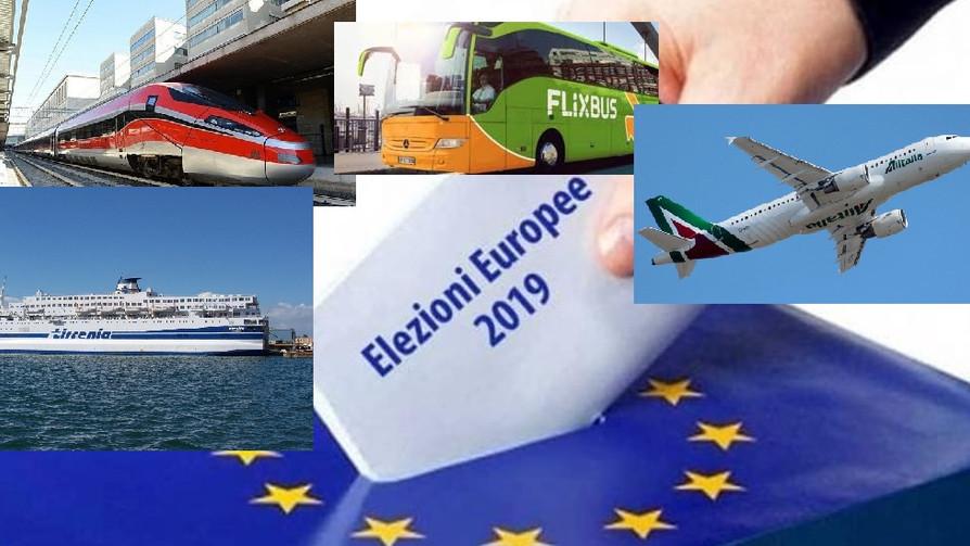 Agevolazione tariffarie per i viaggi ferroviari, via mare, autostradali e con il mezzo aereo per le