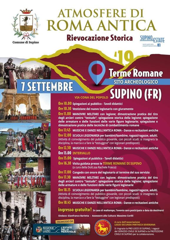 Atmosfere di ROMA Antica  - Rievocazione Storica.
