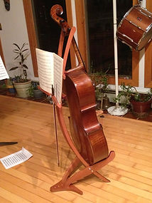 Cello stand cherry finish - Birgit, from US
