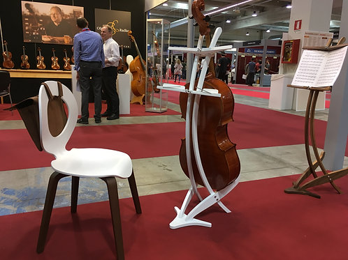 Cello music stand - white finish