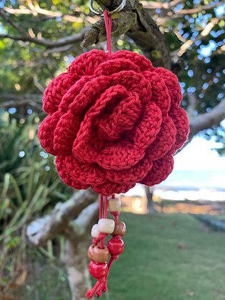 Chaveirinho Flor Vermelha