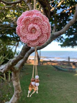 Chaveirinho Flor rosa