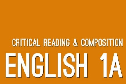 Course Introduction: English 1A
