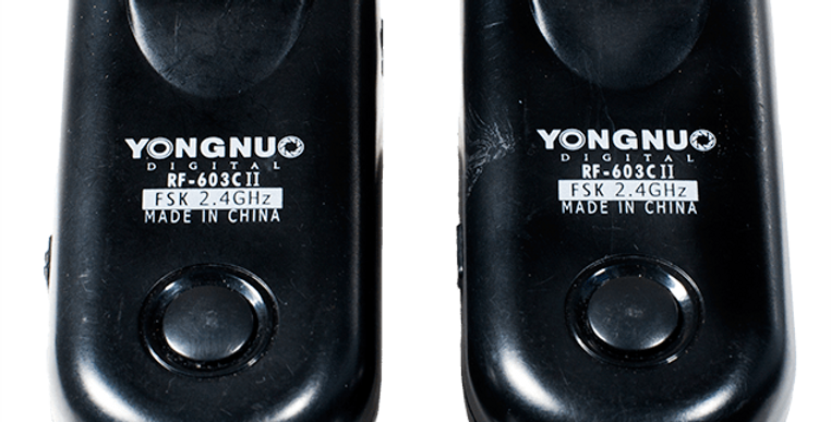 Radios Yongnuo RF-603C II