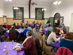 Church Launch meal