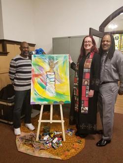 Church Launch art from Heath Holland
