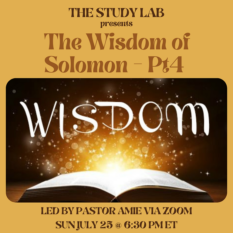 The Study Lab - July 25, 2021