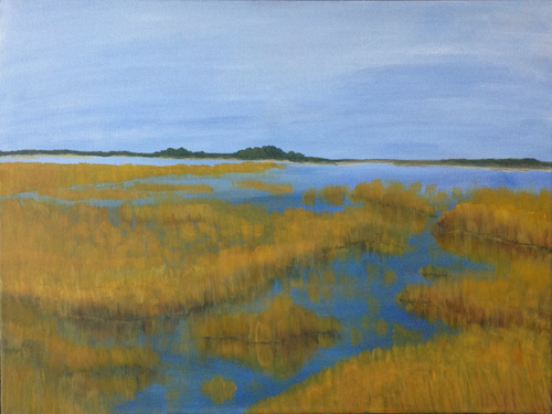 Salt Marsh Reflections